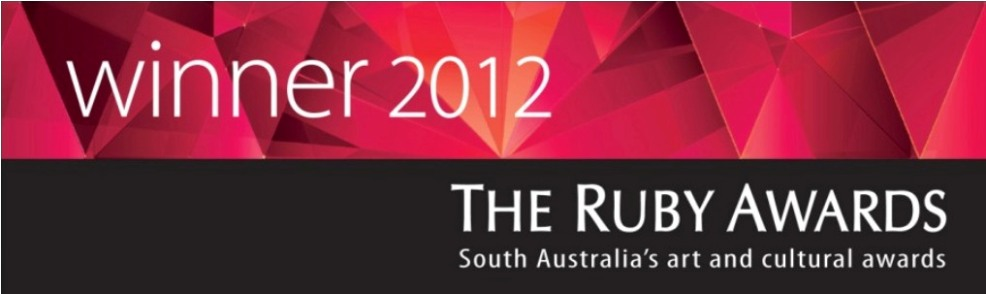 Winner of 2012 Ruby Award - Sustained Contribution by an Organisation or Group!